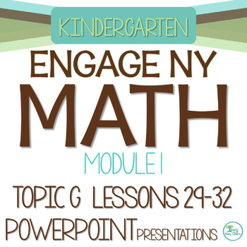Engage NY/Eureka Math PowerPoint Presentations Kindergarten Module 1 Topic G
