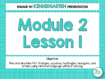 Engage NY/Eureka Math Presentations Kindergarten Module 2 Lesson 1