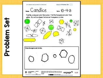 Engage NY/Eureka Math PowerPoint Presentations Kindergarten Module 2 Lesson 4