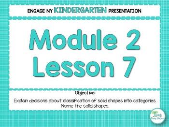 Engage NY/Eureka Math Presentations Kindergarten Module 2 Lesson 7