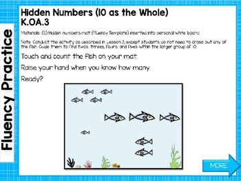 Engage NY/Eureka Math PowerPoint Presentations Kindergarten Module 3 Lesson 14