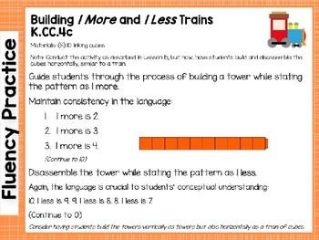 Engage NY/Eureka Math Presentations Kindergarten Module 3 Lesson 20
