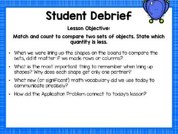Engage NY/Eureka Math Presentations Kindergarten Module 3 Lesson 26