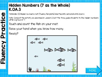 Engage NY/Eureka Math Presentations Kindergarten Module 3 Lesson 6