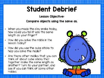 Engage NY/Eureka Math Presentations Kindergarten Module 3 Lesson 7