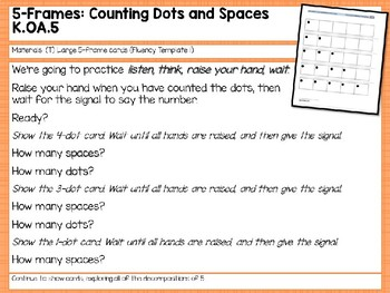 Engage NY/Eureka Math PowerPoint Presentations Kindergarten Module 4 Lesson 1