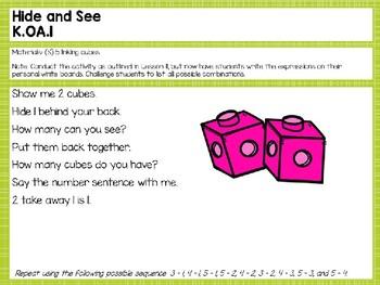 Engage NY/Eureka Math Presentations Kindergarten Module 4 Lesson 21