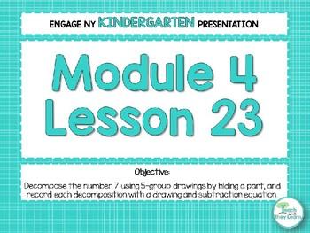 Engage NY/Eureka Math PowerPoint Presentations Kindergarten Module 4 Lesson 23
