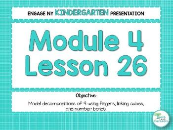Engage NY/Eureka Math PowerPoint Presentations Kindergarten Module 4 Lesson 26