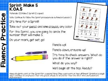 Engage NY/Eureka Math PowerPoint Presentations Kindergarten Module 4 Lesson 6