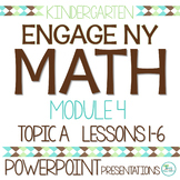 Engage NY/Eureka Math Presentations Kindergarten Module 4 Topic A Lessons 1-6