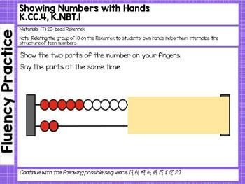 Engage NY/Eureka Math PowerPoint Presentations Kindergarten Module 5 Lesson 10
