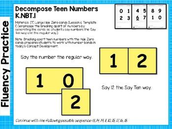 Engage NY/Eureka Math PowerPoint Presentations Kindergarten Module 5 Lesson 7