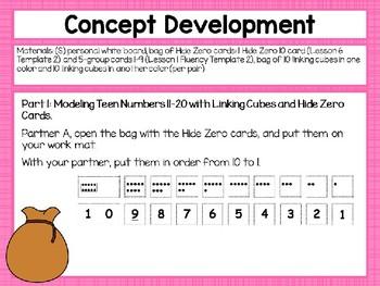 Engage NY/Eureka Math Presentations Kindergarten Module 5 Lesson 8