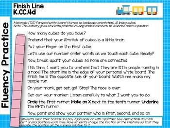 Engage NY/Eureka Math Presentations Kindergarten Module 6 Topic B Lessons 5-8