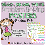 Read Draw Write Posters - EngageNY Math & Eureka Math Correlated