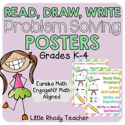 Read Draw Write Posters - EngageNY Math & Eureka Math Correlated