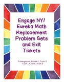 Engage NY / Eureka Math Replacement Sheets Module 4, Topic D