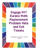 Engage NY / Eureka Math Replacement Sheets Module 4, Topic E