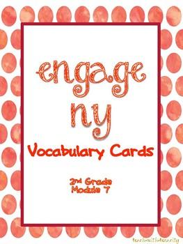 Engage NY/Eureka Math Second Grade Module 7 Vocabulary Cards