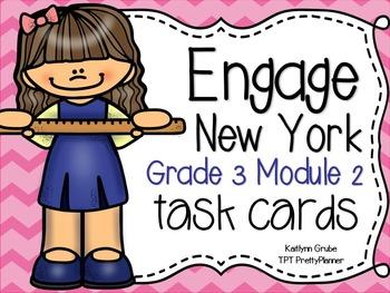Engage NY Eureka Math Third Grade Module 2 Task Cards