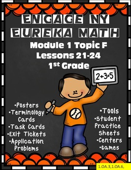 Engage NY {Eureka} Math Topic F Lessons 21-24 1st Grade