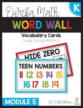 Engage NY/Eureka Math Word Wall Module 5