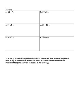 Engage NY Eureka Math Zearn SECOND GRADE Module 1 End Assessment Review Sheet