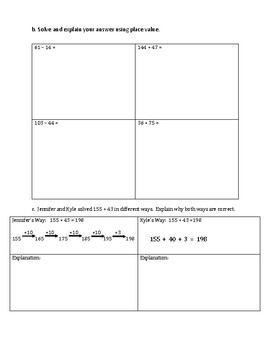 Engage NY Eureka Math Zearn SECOND GRADE Module 4 End Assessment Review Sheet