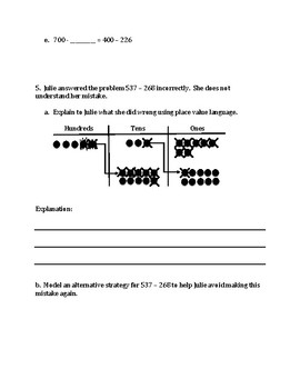 Engage NY Eureka Math Zearn SECOND GRADE Module 5 End Assessment Review Sheet