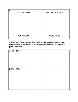 Engage NY Eureka Math Zearn SECOND GRADE Module 5 Mid Assessment Review Sheet