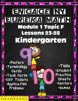 Engage NY {Eureka} Module 1 Topic F Lessons 23-28 Kindergarten