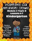 Engage NY {Eureka} Module 3 Topic B Lessons 4-7 Kindergarten