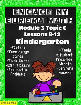 Engage NY {Eureka} Module 3 Topic C Lessons 8-12 KINDERGARTEN
