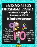 Engage NY {Eureka} Module 4 Topic E Lessons 25-28 Math KINDERGARTEN