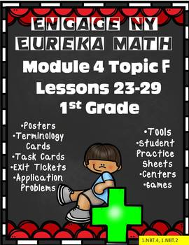 Engage NY {Eureka} Module 4 Topic F Lessons 23-29 1st Grade