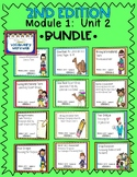 Engage NY Expeditionary Learning 3rd Grade 2nd Edition Module1 Unit2 BUNDLE