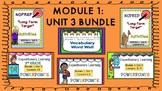 Engage NY Expeditionary Learning 3rd Grade M1:Unit 3 BUNDLE