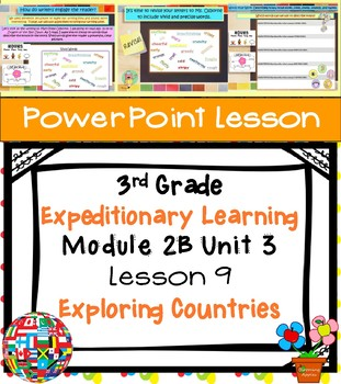 Engage NY Expeditionary Learning 3rd grade Module 2B Unit 3 Lesson 9 PowerPoint