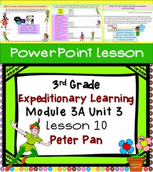 Engage NY Expeditionary Learning 3rd grade Module 3A Unit 3 Lesson 10 PowerPoint