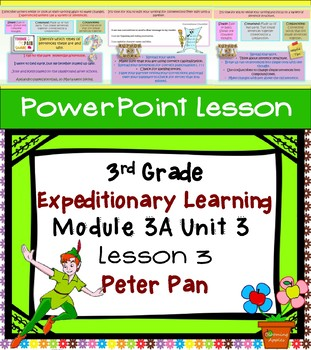 Engage NY Expeditionary Learning 3rd grade Module 3A Unit 3 Lesson 3 PowerPoint