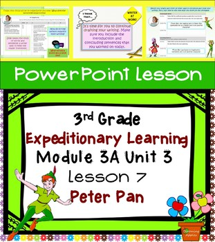 Engage NY Expeditionary Learning 3rd grade Module 3A Unit 3 Lesson 7 PowerPoint