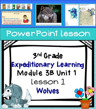 Engage NY Expeditionary Learning 3rd grade Module 3B Unit 1 Lesson 1 PowerPoint