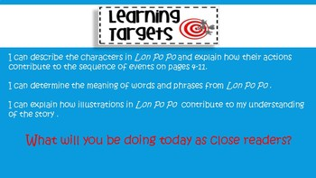 Engage NY Expeditionary Learning 3rd grade Module 3B Unit 1 Lesson 2 PowerPoint
