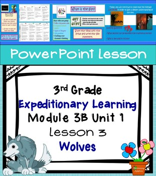 Expeditionary Learning 3rd Grade Module 3B Unit 1 Lesson 3