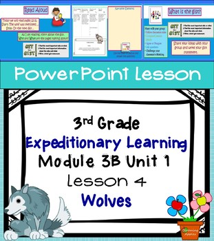 Engage NY Expeditionary Learning 3rd grade Module 3B Unit 1 Lesson 4 PowerPoint