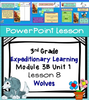 Engage NY Expeditionary Learning 3rd grade Module 3B Unit 1 Lesson 8 PowerPoint
