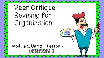 Engage NY Expeditionary Learning Module 1: Unit 2 Lesson 9 Version 2 PowerPoint