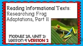 Engage NY Expeditionary Learning Module 2 Unit 2 Lesson 9