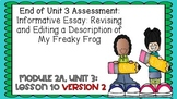 Engage NY Expeditionary Learning Module 2a Unit 3 Lesson 10 2nd Edition PPT